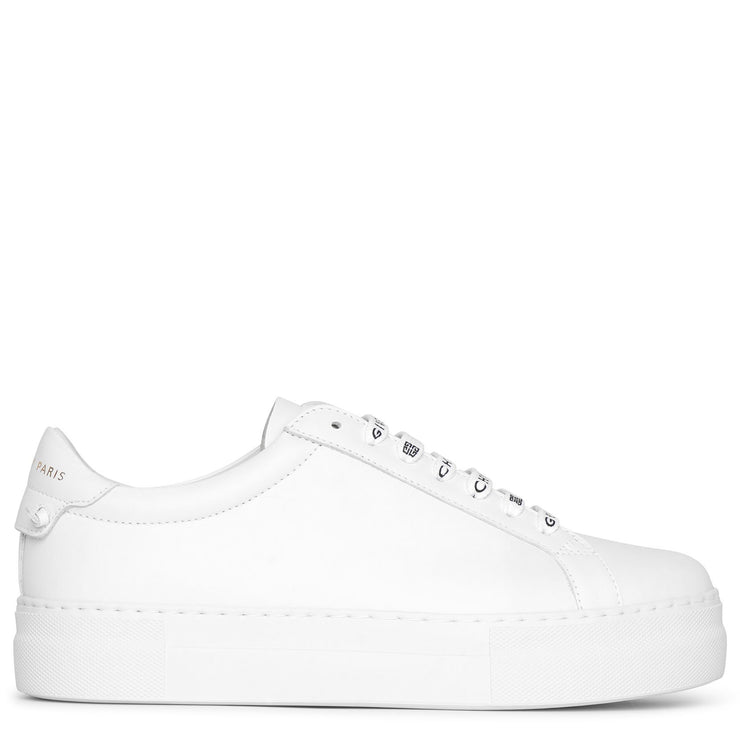 Givenchy logo laces platform sneakers