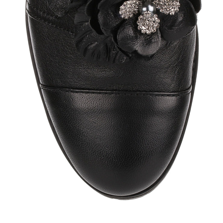 Havana flower embellished boot