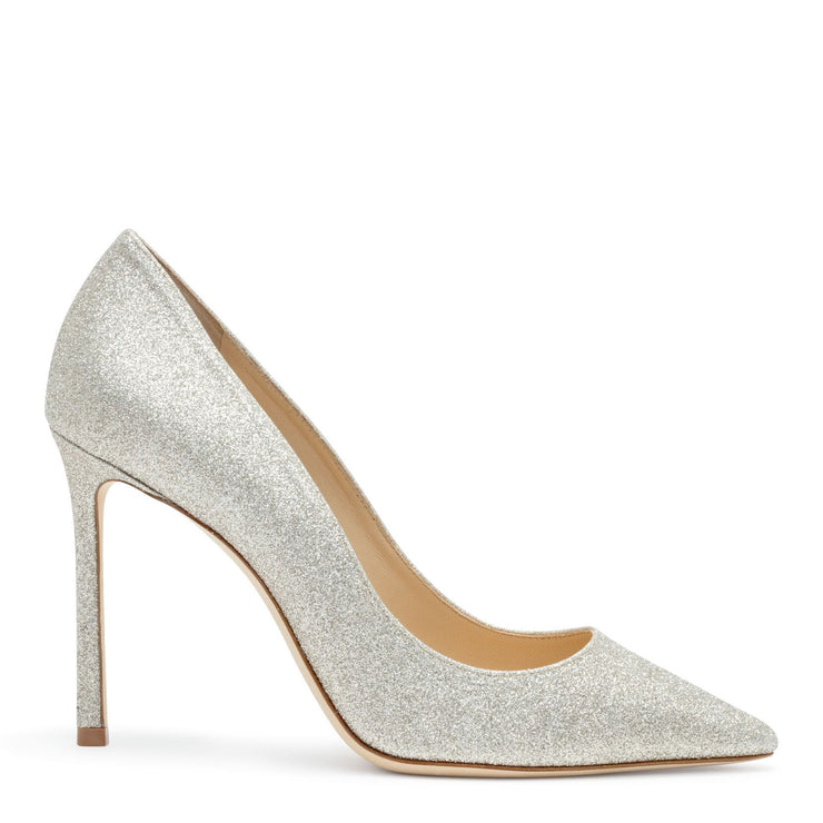 Romy 100 dusty glitter pump