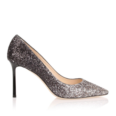 Romy 85 degrade glitter pump
