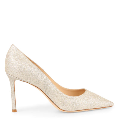 Romy 85 dusty glitter pump