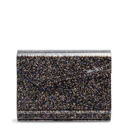 Candy Black Glitter Clutch