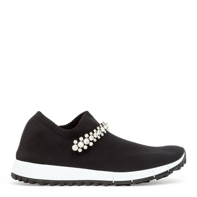 Verona black crystal sneakers