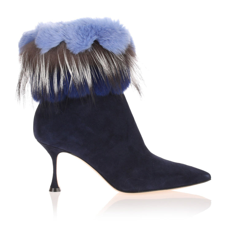 Remola blue suede boot