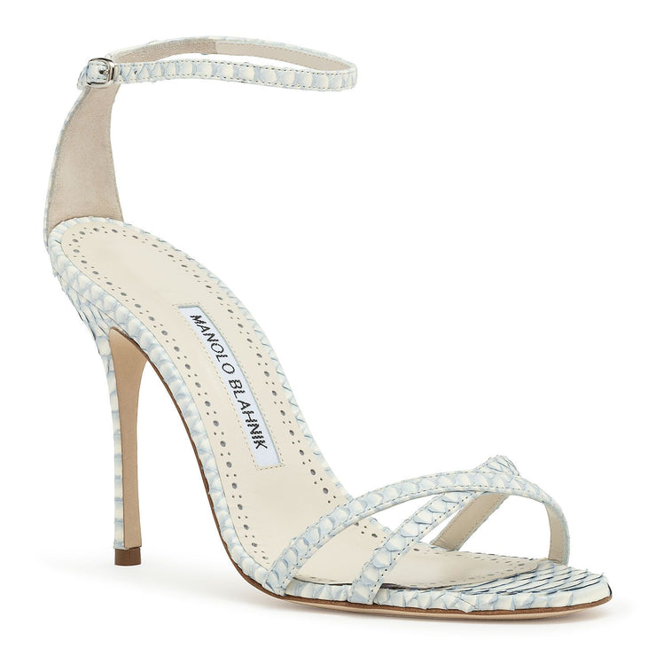 Paloma 105 lilac degrade snake sandals
