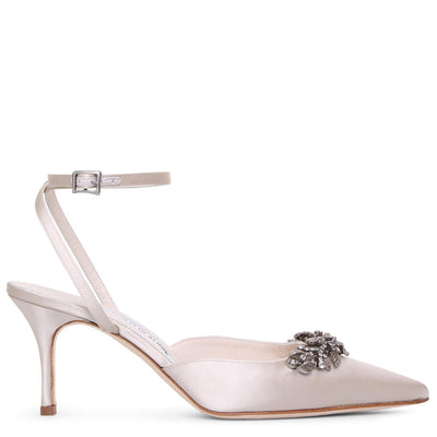 Forla satin pumps
