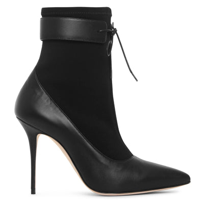 Said stretch ankle boots