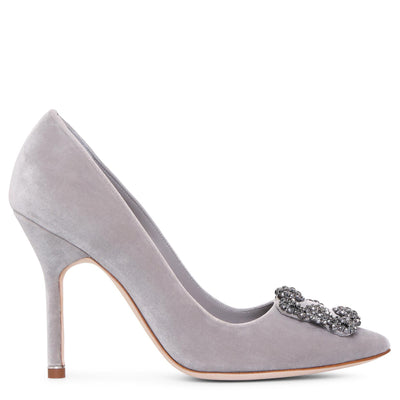 Hangisi 105 velvet grey pumps