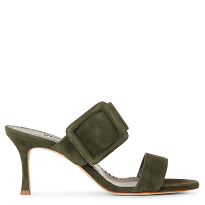 Gable 70 khaki suede sandals