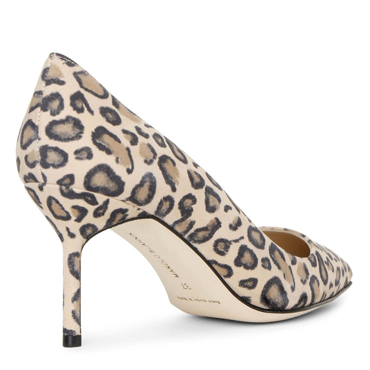 BB 70 leopard suede pumps