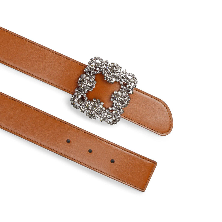 Hangisi brown leather 35mm belt