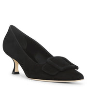 Maysale pump 50 black suede