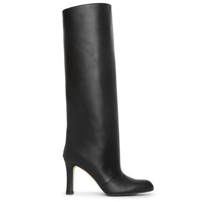 Khomobi 90 black leather boots