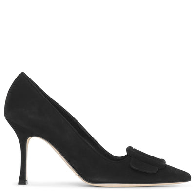 Maysale pump 90 black suede