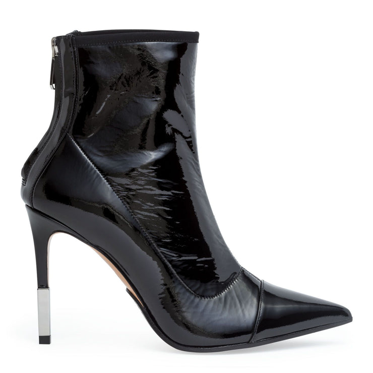 Blair 95 black patent ankle boots