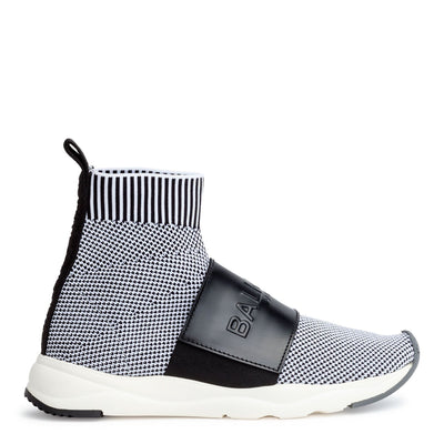 Cameron black stretch sneakers