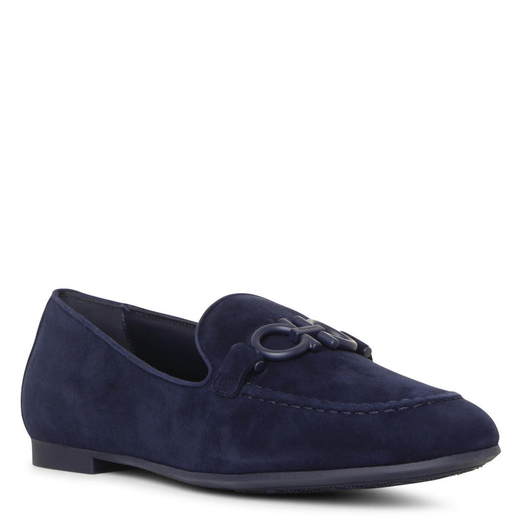 Trifoglio gancino suede loafers
