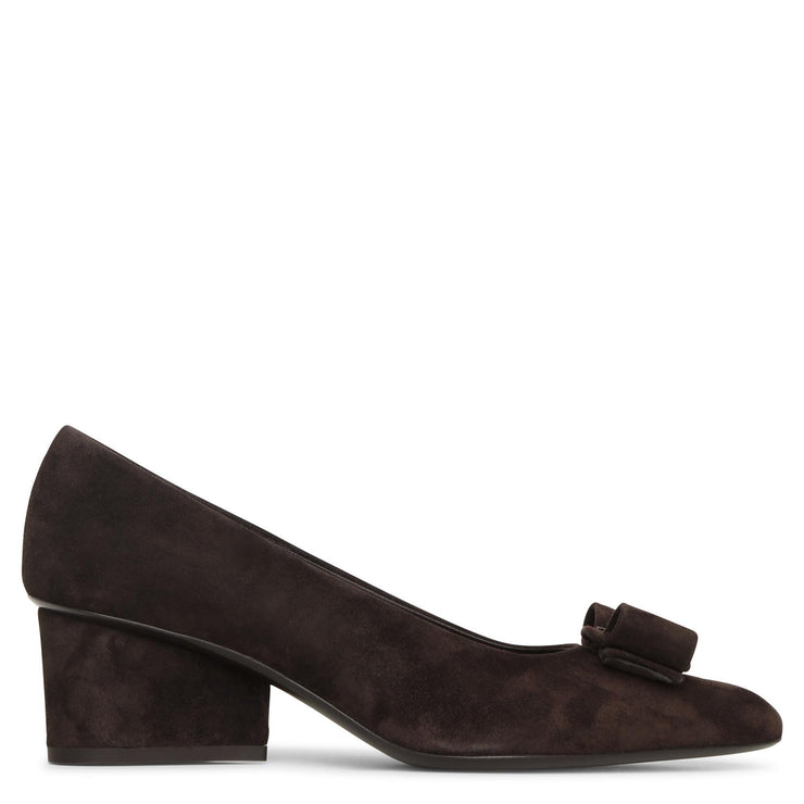 Viva 55 suede hickory pumps