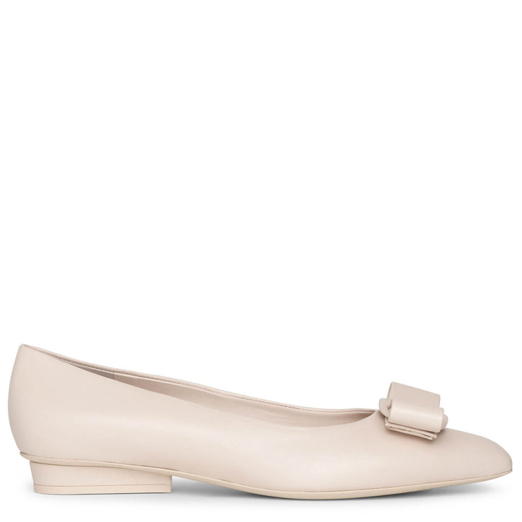 Viva bone flat pumps