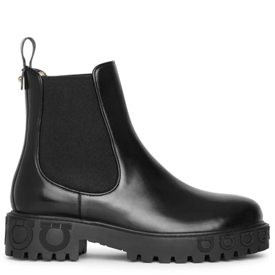Varsi leather chelsea boots