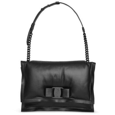 Viva bow bag black