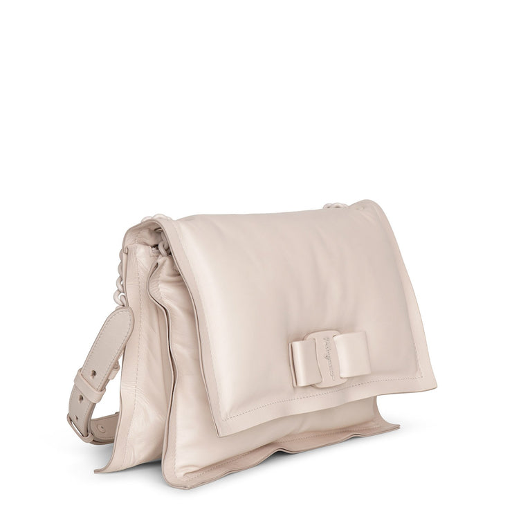 Viva bow bag bone