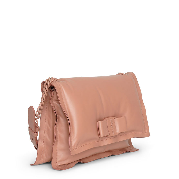 Viva bow bag new blush