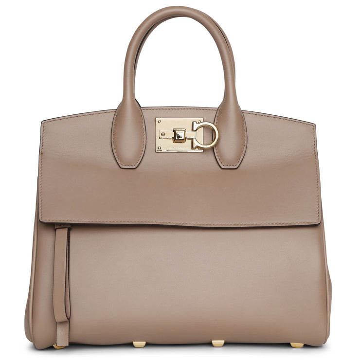 The Studio small taupe tote