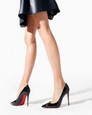 Kate 100 black patent pumps