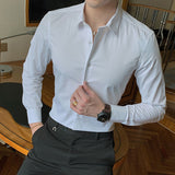 Mens Dress Shirt (Black or White)