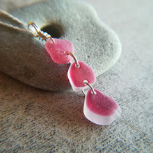 Load image into Gallery viewer, Pink Multi - Sea Glass Necklace