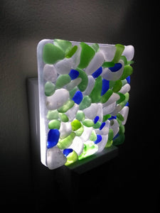 BLUE + GREEN LED NIGHT LIGHT