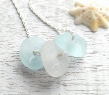 Load image into Gallery viewer, Blue Dream - Sea Glass Necklace