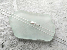 Load image into Gallery viewer, Mermaid Tears Vial - Sea Glass Necklace