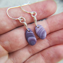 Load image into Gallery viewer, Wampum Shell - Earrings