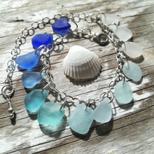 Load image into Gallery viewer, Ocean Ombré - Sea Glass Bracelet