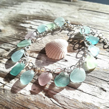 Load image into Gallery viewer, Pastels - Sea Glass Bracelet