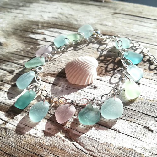 Pastels - Sea Glass Bracelet