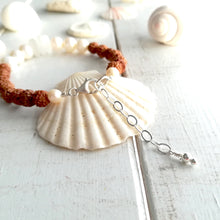 Load image into Gallery viewer, Pearl Sea Mala - Sea Glass Bracelet