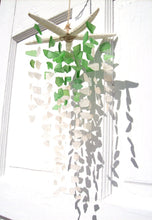 Load image into Gallery viewer, PALM GREEN + WHITE STARFISH SUNCATCHER