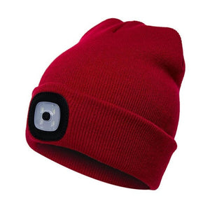 LED Lighted Beanie Cap