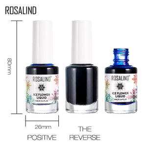 ROSALIND Blooming Ice Flower Nail Polish Art