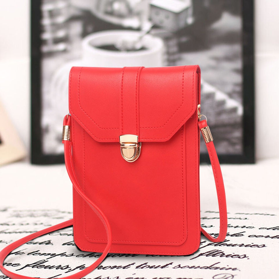Perfect Mini Mobile Phone Touchscreen Crossbodies Bag