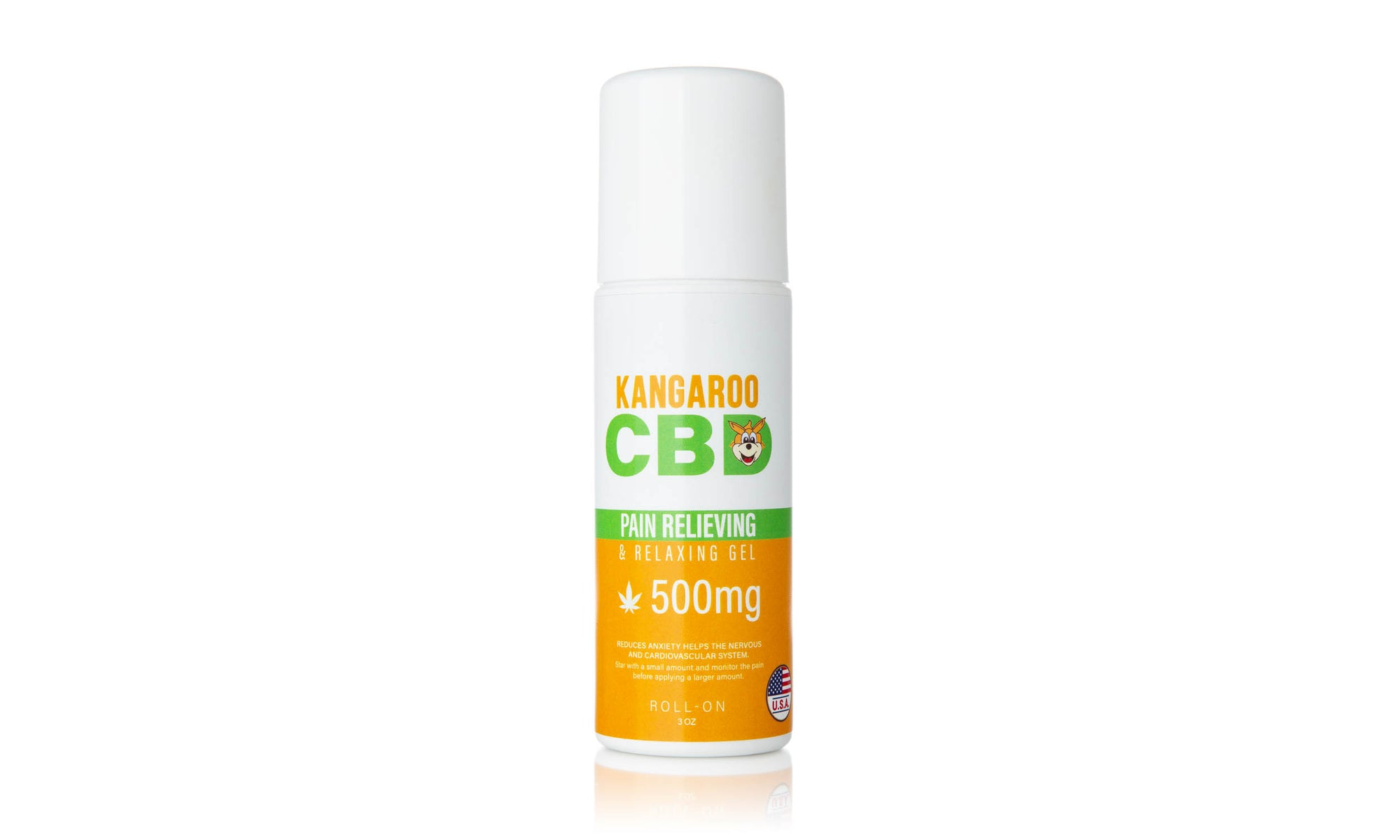 Kangaroo CBD Pain Relief Roll-on 500MG