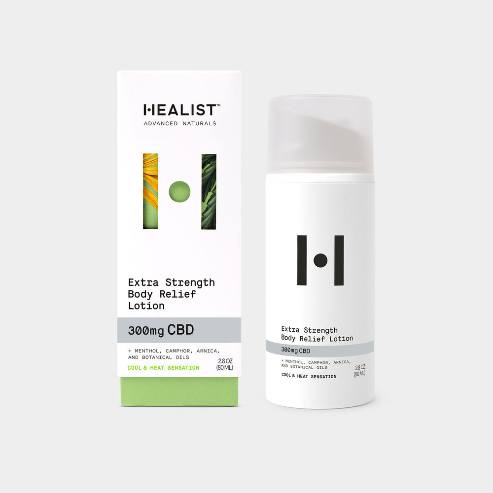 Extra Strength Body Relief CBD Lotion