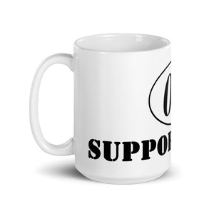 "Funny Running Mug ""0.0 Support Staff"""