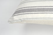 Carrie 15x25 Stripe Lumbar Pillow Cover