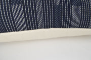 Jenn Navy 14x20 Lumbar Pillow Cover