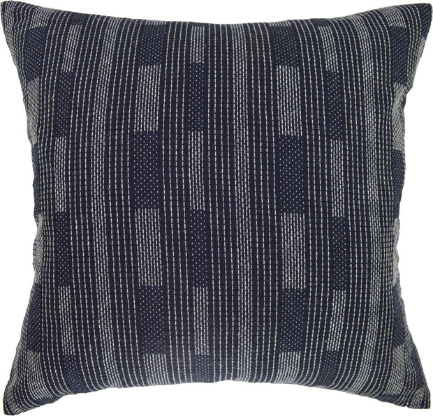 Jenn Navy 18x18 Pillow Cover
