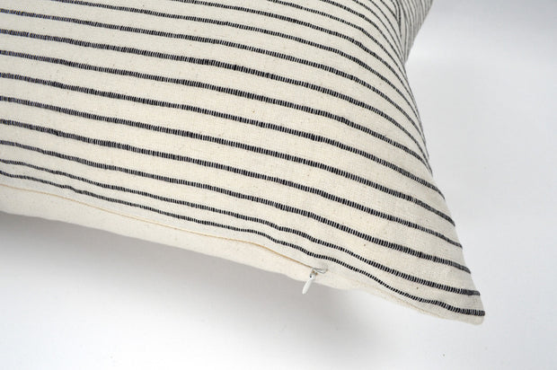 Louis 15x25 Stripe Lumbar Pillow Cover